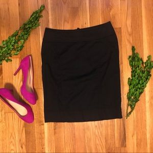 H&M Black Pencil Skirt